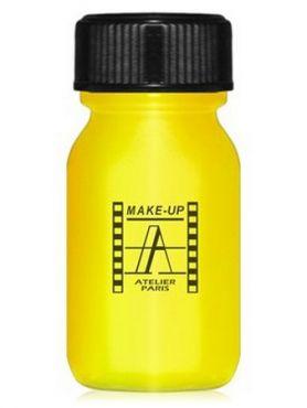Make-Up Atelier Paris Aquacream AQJ Yellow Акварель жидкая кремовая желтая