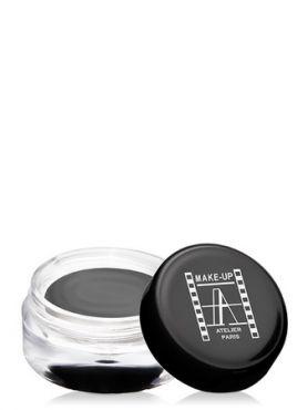 Make-Up Atelier Paris Cream Eyeshadow ESCGF Gris fume Тени для век кремовые серая сажа (светло-серые матовые)