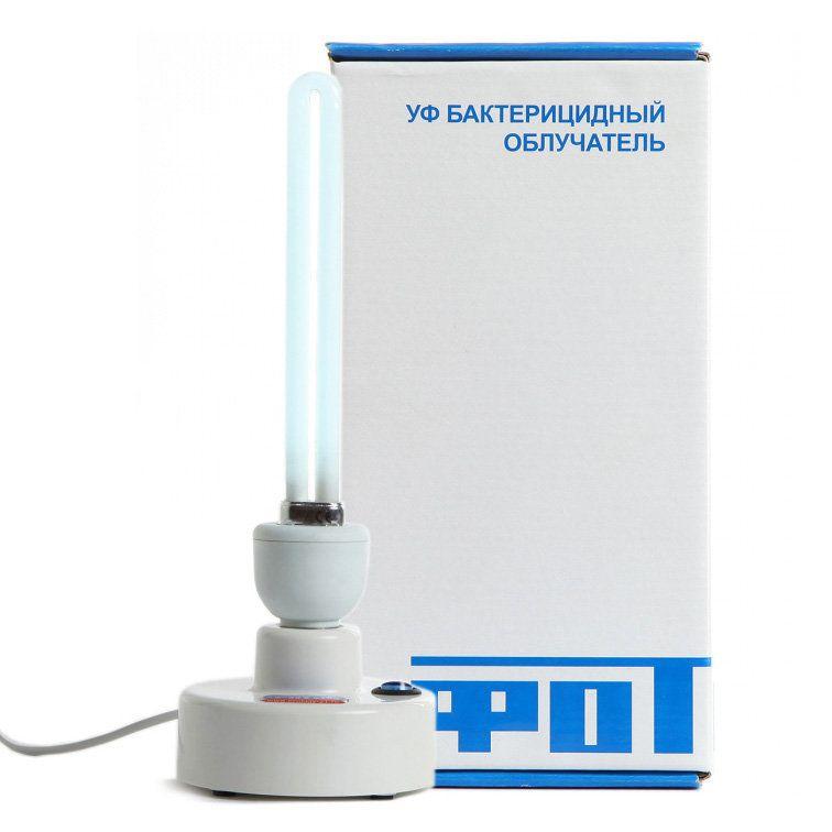 """Ультрафиолетовый бактерицидный светильник-облучатель """"ФОТОН"""" ОБ-01. Кварцевая лампа переносная"""