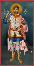 Икона Нестор Солунский мученик