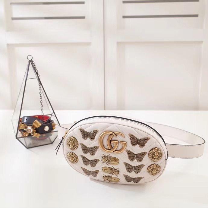 Поясная сумка Gucci GG Marmont