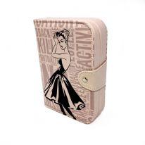 Шкатулка-книжка для ювелирных изделий, 14х5х20 см., бежевый