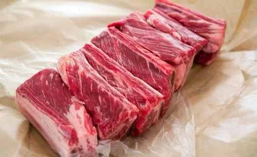 Ребра говяжьи мясные из мраморной говядины (1 кг)