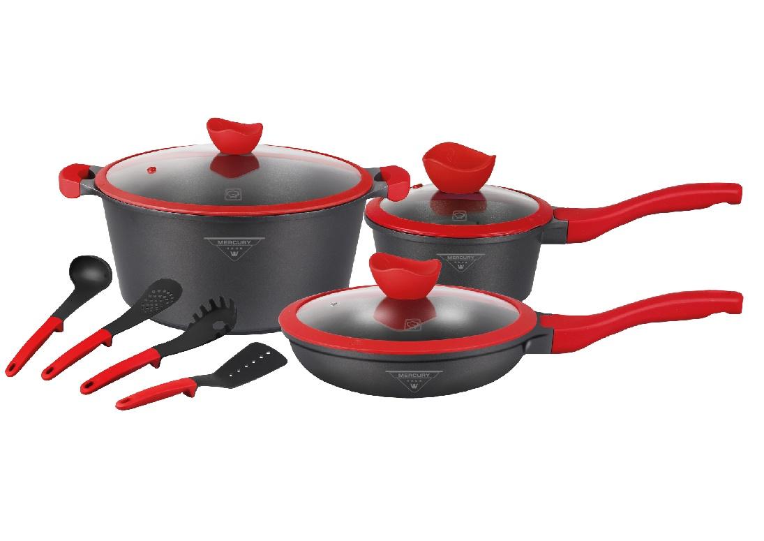 Набор посуды 10 предметов MercuryHaus MC-6366