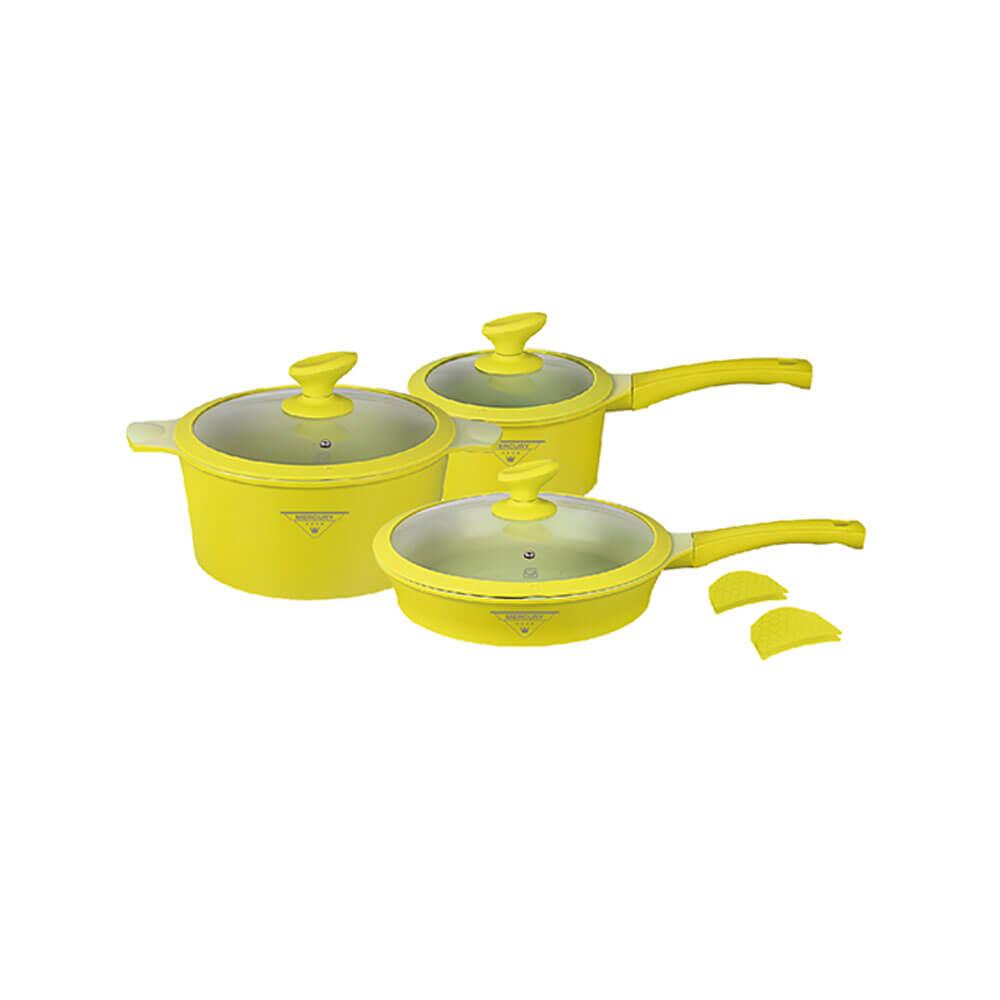 """Посуда Набор посуды с покрытием под мрамор """"MercuryHaus"""", MC - 6360"""