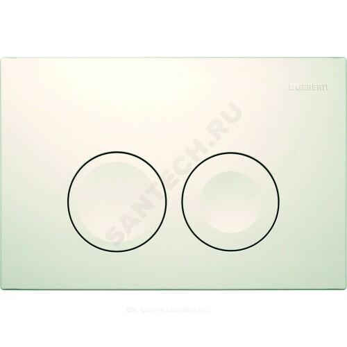 Кнопка для инсталляции Delta 21 бел механ Geberit 115.125.11.1
