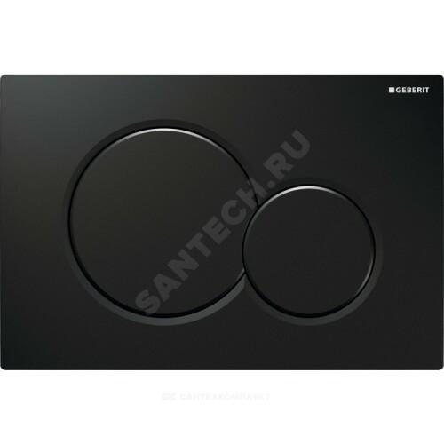 Кнопка для инсталляции Sigma 01 черн механ Geberit 115.770.DW.5
