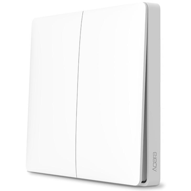 Беспроводной выключатель двухклавишный Xiaomi Aqara Smart Light Control (WXKG02LM)