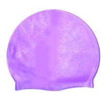 Силиконовая шапочка для плавания Afiter, Цвет: Сиреневый