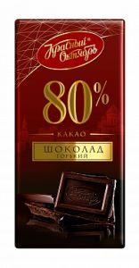 Шоколад КРАСНЫЙ ОКТЯБРЬ 80% какао горький 75г