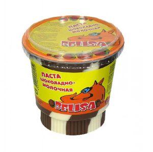 Шоколадная паста BELISA 400г Шоколадно-молочная ДУО пл/ст