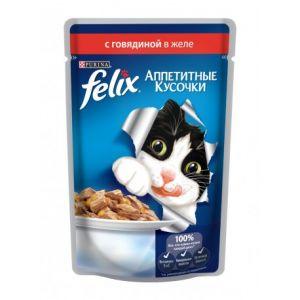 Корм для кошек FELIX Говядина 85г