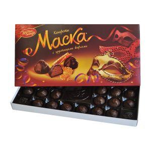 Набор конфет МАСКА С хрустящими вафлями Красный Октябрь 300г
