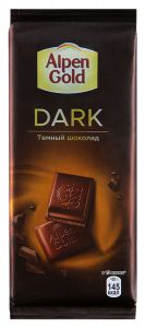 Шоколад ALPEN GOLD Dark темный 85г