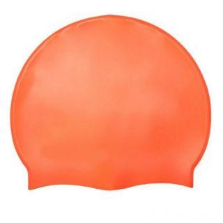 Силиконовая шапочка для плавания Afiter, Цвет: Оранжевый