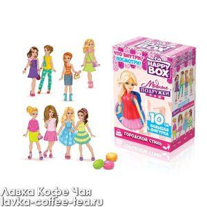 Игрушка с конфетой HAPPY BOX Модные подружки 18г