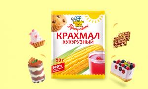Крахмал ПРИПРАВЫЧ Кукурузный 50г
