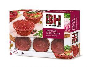 Тарталетки BAKER HOUSE Финские овощные с кунжутом 180г