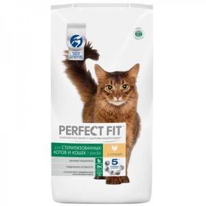 Корм PERFECT FIT для кострированых котов/стерилизованых кошек 190г