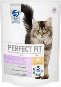 Корм для котят PERFECT FIT пауч рагу с курицей 85г
