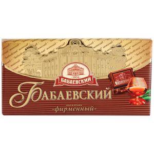 Шоколад ФИРМЕННЫЙ БАБАЕВСКИЙ 100г