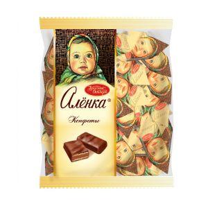 Конфеты АЛЕНКА В шоколадной глазури Красный Октябрь 250г