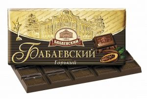 Шоколад БАБАЕВСКИЙ горький 55% какао 100г