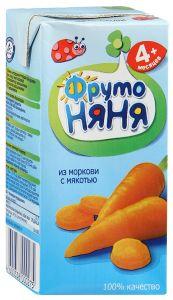 ДП Нектар ФРУТОНЯНЯ Морковь с мякотью 200г