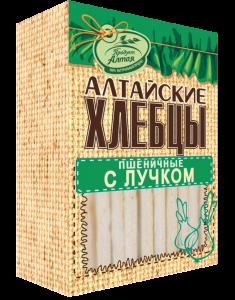Хлебцы ПРОДУКТ АЛТАЯ С луком 75г