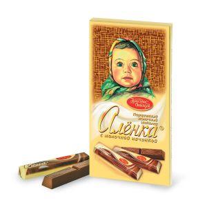 Шоколад АЛЕНКА в стиках молочный Красный октябрь 100г