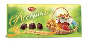 Набор конфет АССОРТИ Прямоугольное Рот Фронт 220г