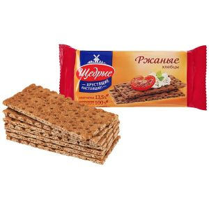 Хлебцы ЩЕДРЫЕ ржаные 100г