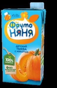 ДП Нектар ФРУТОНЯНЯ Тыква с мякотью 500г