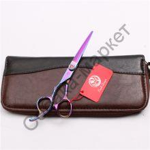 Ножницы прямые 6 дюймов Purple Dragon серия Шайн