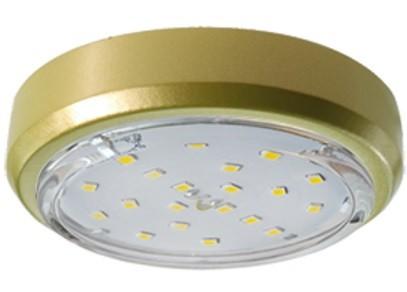Светильник Ecola под лампу GX53 GX53 5356 Золото