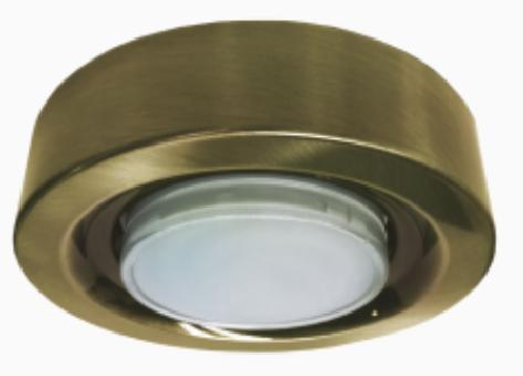 Светильник Ecola под лампу GX53 GX53-FT3073 Черненая бронза