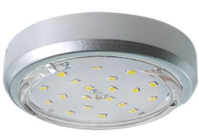 Светильник Ecola под лампу GX53 GX53 5356 Серебро