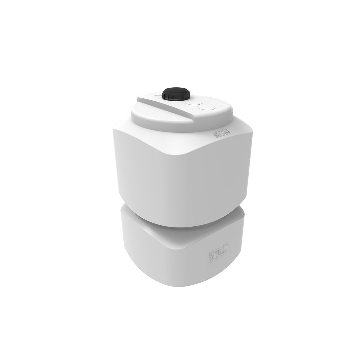 Емкость для топлива L oil 500 литров пластиковая