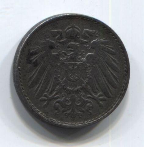 5 пфеннигов 1917 года Германия A