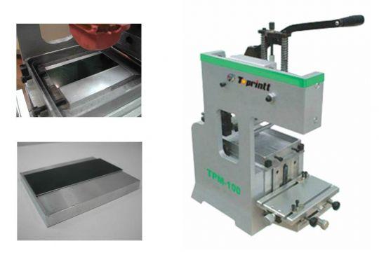 Однокрасочный ручной тампонный станок HPC-100