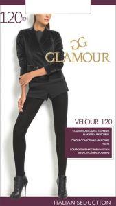 Колготки GLAMOUR Velour 120den nero 3