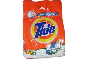 Порошок стиральный Автомат TIDE 1500гр Альпийская свежесть
