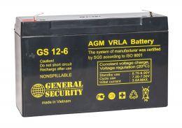 Аккумулятор General Security GS12-6