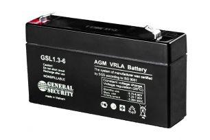 Аккумулятор General Security GSL1.3-6