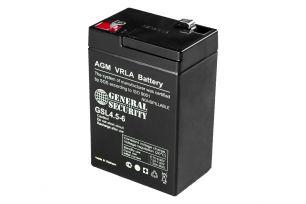 Аккумулятор General Security GSL4.5-6
