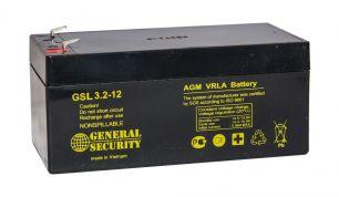 Аккумулятор General Security GSL2.3-12