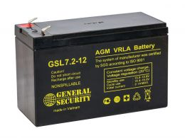 Аккумулятор General Security GSL7.2-12