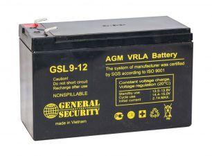 Аккумулятор General Security GSL9-12