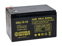 Аккумулятор General Security GSL12-12