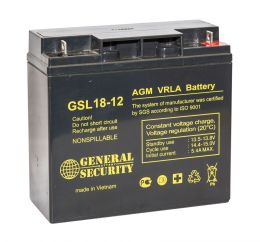 Аккумулятор General Security GSL18-12L